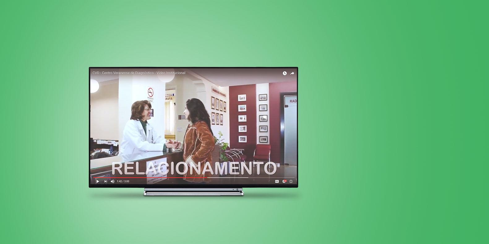 Vídeo institucional produzido pela equipe multimídia da Seiva Criativa para o CVD - Centro Veranense de Diagnósticos